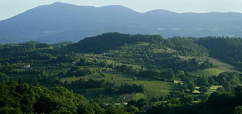 Landscape from chiusi