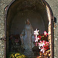 Madonna statuette at San Fatucchio