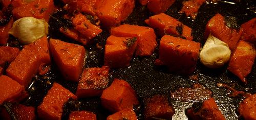 Pumpkin roasted