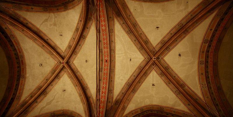 Bargello ceiling