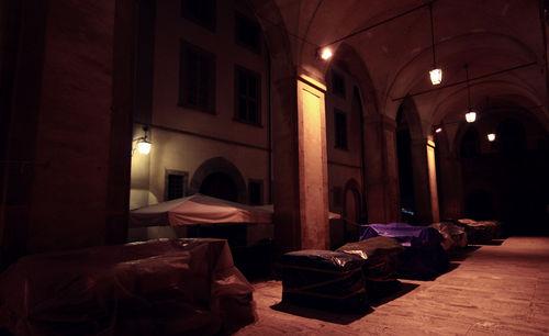 Arezzo at night