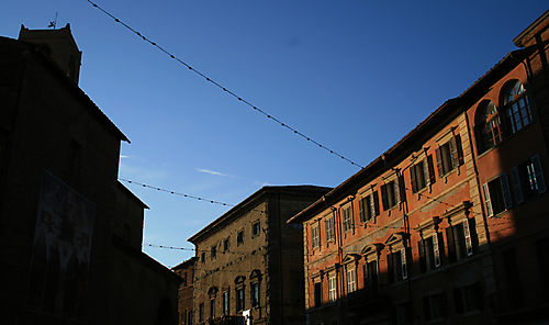 Afternoon light, citta della pieve