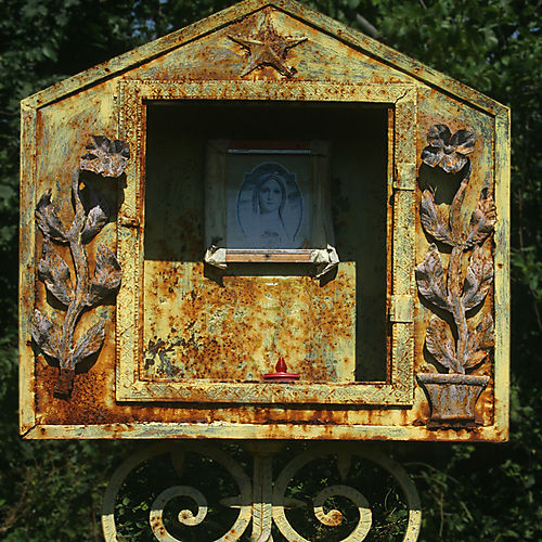 Rusty Madonna at Panicale
